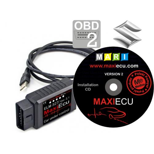 ELM327 + MaxiEcu Suzuki