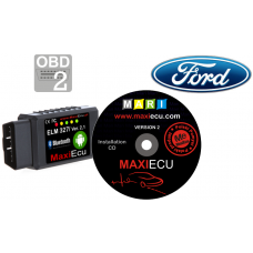 ELM327 Bluetooth + MaxiEcu Ford with adapter
