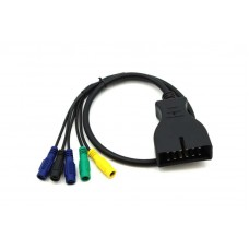 Przejściówka, adapter Daewoo 12pin do diagnoskopu KTS